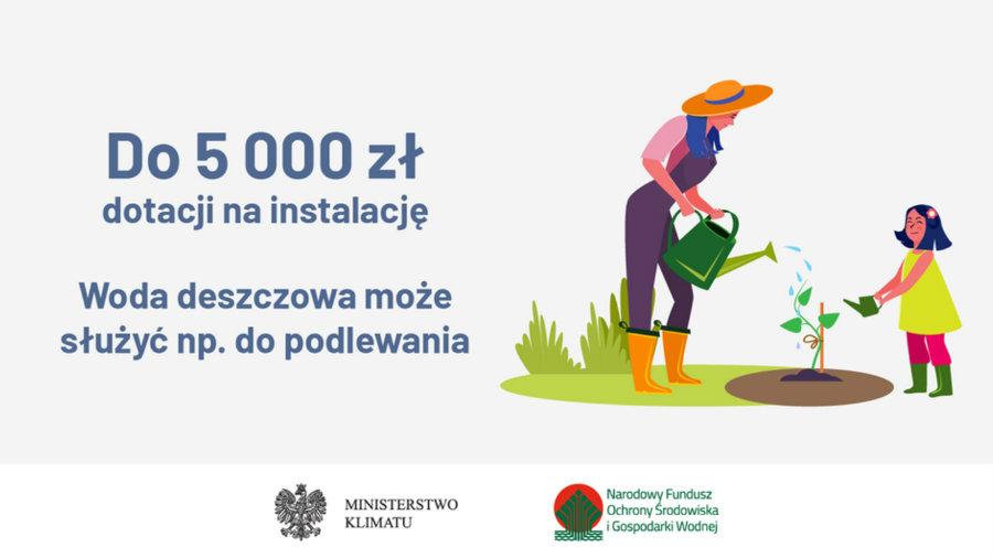 """Program Priorytetowy """"Moja Woda"""" - od 1 lipca ogłoszono nabór wniosków"""