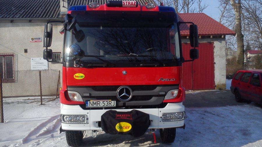 Samochód strażacki dla OSP w Nawiadach